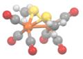 Methylthioirontricarbonyl-dimer-3D-balls.png