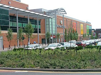 MetroCentre (shopping centre) - The Red Mall extension