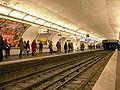 Metro Paris - Ligne 13 - station Saint-Lazare 02.jpg