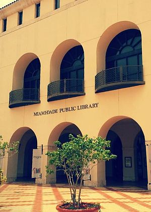 Miami-Dade Public Library System - Main Library, Miami-Dade Public Library System, Downtown Miami
