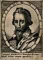 Michael Servetus. Line engraving, 1696, after C. van Sichem, Wellcome V0005386.jpg