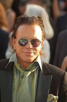 Mickey Rourke al Festival di Cannes 2007