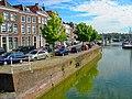 Middelburg - Bellinkbrug - View NNE on Rouaansekaai, Binnenhaven & Spijkerbrug.jpg
