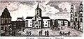 Mienskaja ratuša. Менская ратуша (1800).jpg
