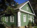 Mikhailovskoye village. (Pskov oblast). Geychenko house.JPG