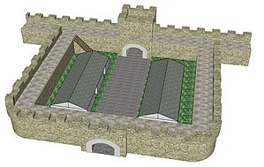 Milecastle - Image: Mile Castle Top Elevation 3