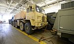 Military Vehicles loaded at Marchwood for Ex Shamal Storm MOD 45159740.jpg