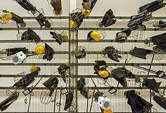 Miners change room, Rammelsberg, Lower Saxony, Germany, 2015-05-17.jpg