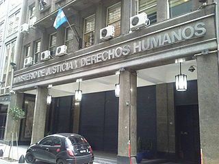 Ministry of Justice and Human Rights (Argentina) government ministry in Argentina