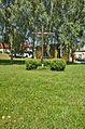 Misijní kříž na návsi, Benešov, okres Blansko.jpg