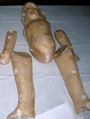 Lupita dolls - Unassembled and unpainted Lupita doll