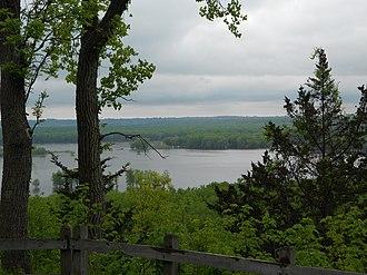 Mississippi Palisades State Park - Image: Mississippi Palisades