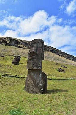 Moai at Rano Raraku (Easter Island)