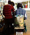 Mobile chaiwala (tea vendor on a motorbike).jpg