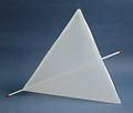 Modell eines Tetraeders, 30x30x30 cm -Grosch-.jpg