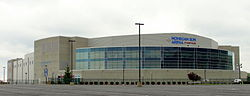Mohegan Sun Arena at Casey Plaza in Wilkes-Barre Township