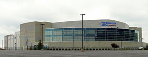 Wilkes-Barre Township, Luzerne County, Pennsylvania - Mohegan Sun Arena at Casey Plaza in Wilkes-Barre Township