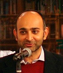 Mohsin Hamid reading, Brooklyn.jpg