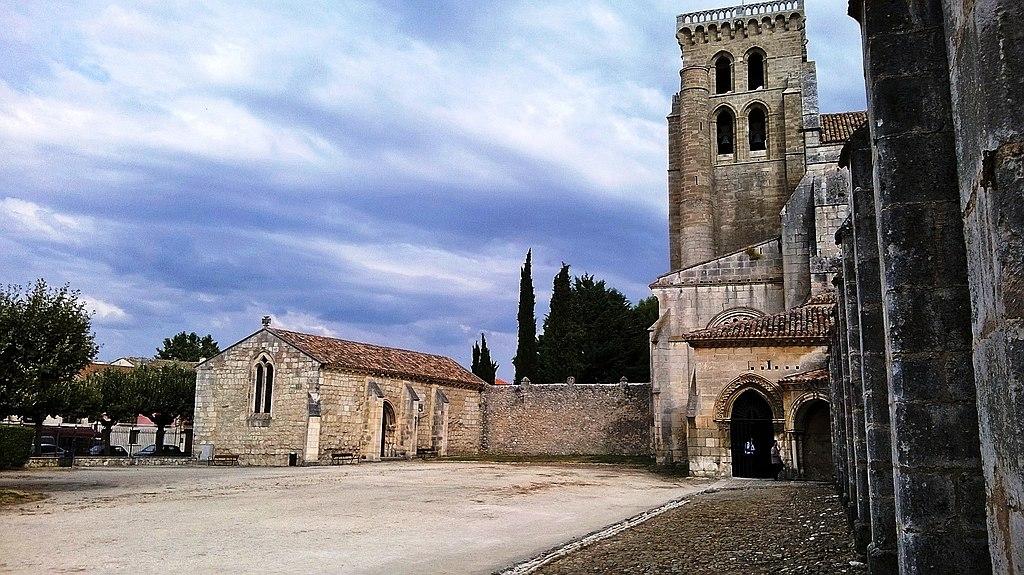 Monasterio de Santa María la Real de Burgos (acceso de entrada).jpg