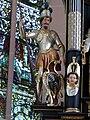 Mondsee Kirche - Hochaltar Herzog Odilo 1.jpg