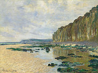 Monet, Claude - Low Tide at Varengeville (1882).jpg