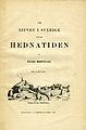 Montelius, Om lifvet i Sverige under hednatiden (1873) titelblad.jpg