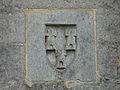 Montignac (24) Coulonges armoiries Pompadour.jpg