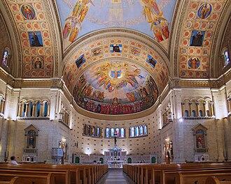 Church of the Madonna della Difesa - Image: Montreal ND Defense 2 tango 7174