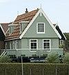 foto van Houten huis, met eenvoudige eindgevel