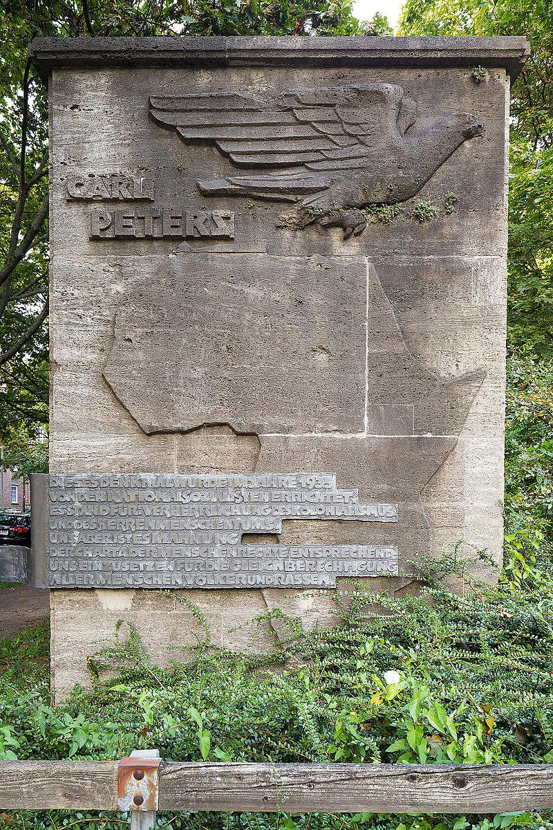 Denkmal Carl Peters in der Südstadt