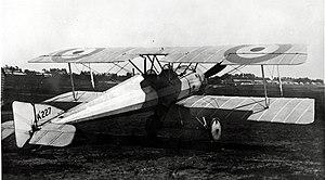 Morane-Saulnier BB French First World War reconnaissance aircraft in RFC markings.jpg