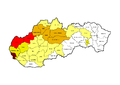 Moravians in Slovakia in 1991.png