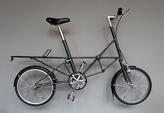 Moulton Bicycle - The Moulton space frame in the MoMA