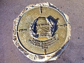 Mount Diablo meridian - Mount Diablo Memorial Marker