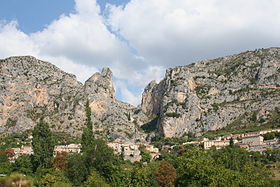 Village de Moustiers-Sainte-Marie