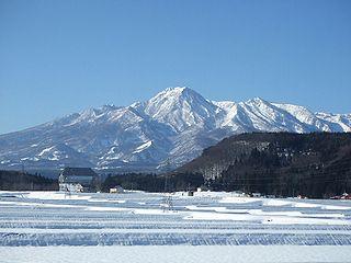 mountain in Niigata Prefecture, Japan
