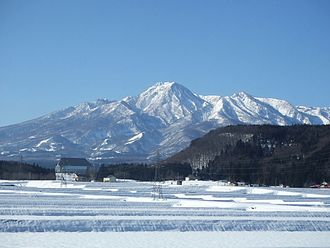 Mount Myōkō - A view from northeast