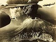 Mt Vesuvius Erupting