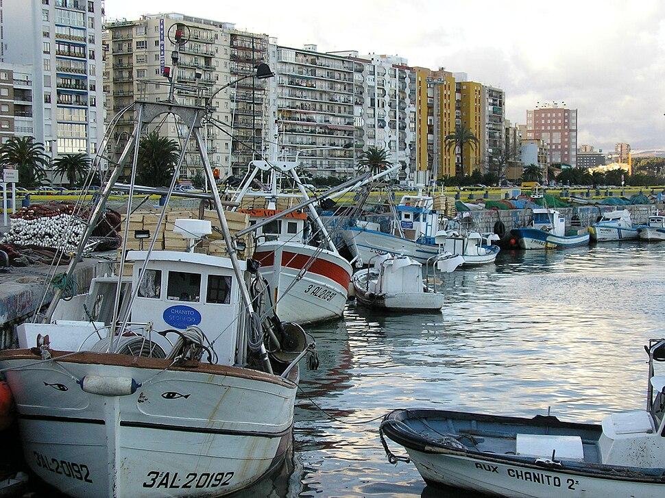 Muelle pesquero de Algeciras 1