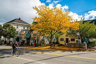 Munjoy Hill - Munjoy Hill Neighborhood Organization Hill House in Autumn, 2010.