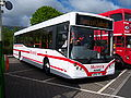 Munros bus 102 MAN MCV Evolution AE06 VPO Metrocentre rally 2009 pic 1.JPG