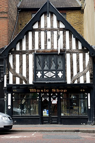 46 South End - Image: Music shop, 46 South End, Croydon