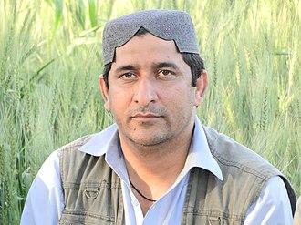 Muzafar Bhutto - Secretary General of Jeay Sindh Muttahida Mahaz
