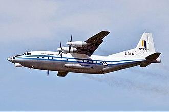 Shaanxi Y-8 - Y-8 of the Myanmar Air Force