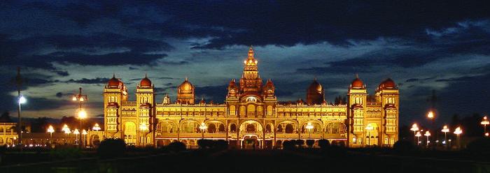 Vista Panoramica del Palacio Mysore