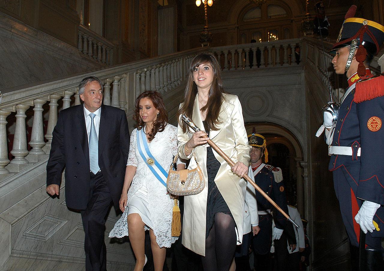File:Néstor Kirchner Cristina Fernández De Kirchner Y
