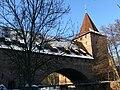 Nürnberg Westtormauer Fronveste und Schlayerturm.jpg