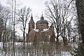 Nītaures Kristus Piedzimšanas pareizticīgo baznīca, Nītaures pagasts, Amatas novads, Latvia - panoramio (1).jpg