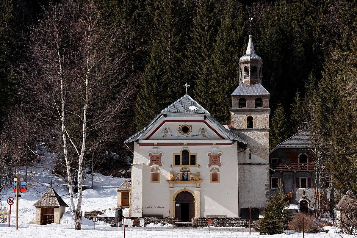 Fond Du Lac Wi >> Chapelle Notre-Dame-de-la-Gorge — Wikipédia
