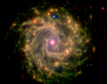 NGC3184 3.6 8.0 24 microns spitzer.png